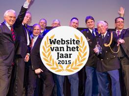Announcement Dutch winners Website of the Year award 2015