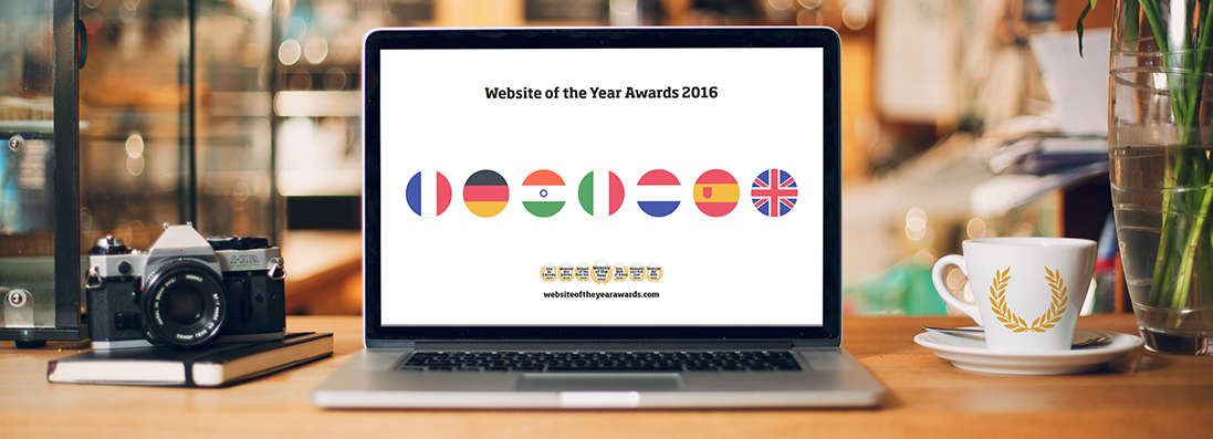 Website of the Year 2016 - Announcing the nominees