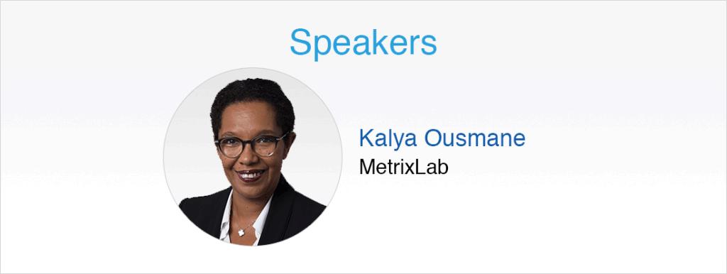 Speakers: Kayla Ousmane
