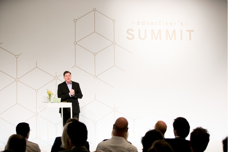 CEO Scott Ernst at the Persgroep Summit