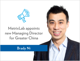 Press release: MetrixLab appoints new Managing Director for Greater China