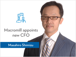 Press release: Macromill Group appoints Masahiro Shimizu as CFO
