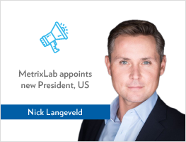 Press release: MetrixLab appoints Nick Langeveld as President, US