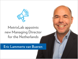 Press release: MetrixLab appoints Eric Lammerts van Bueren as Managing Director, The Netherlands