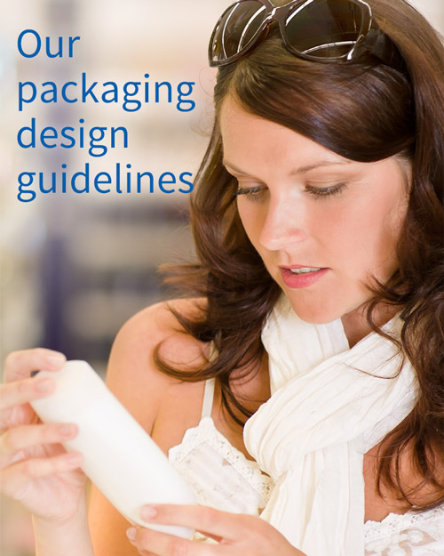 Our packaging design guidelines