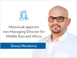 Press release: MetrixLab appoints Danny Mendonca as Managing Director for Middle East and Africa