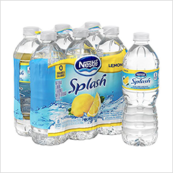 Optimizing hero ecommerce product images: Nestlé Splash example