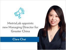 Press release: Clare Chai rejoins MetrixLab as new Managing Director for Greater China