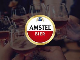 Amstel Bock pack design