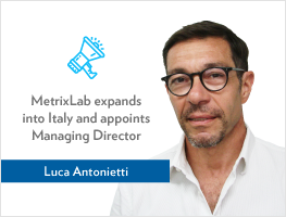 Press release: MetrixLab expands into Italy and appoints Luca Antonietti as Managing Director