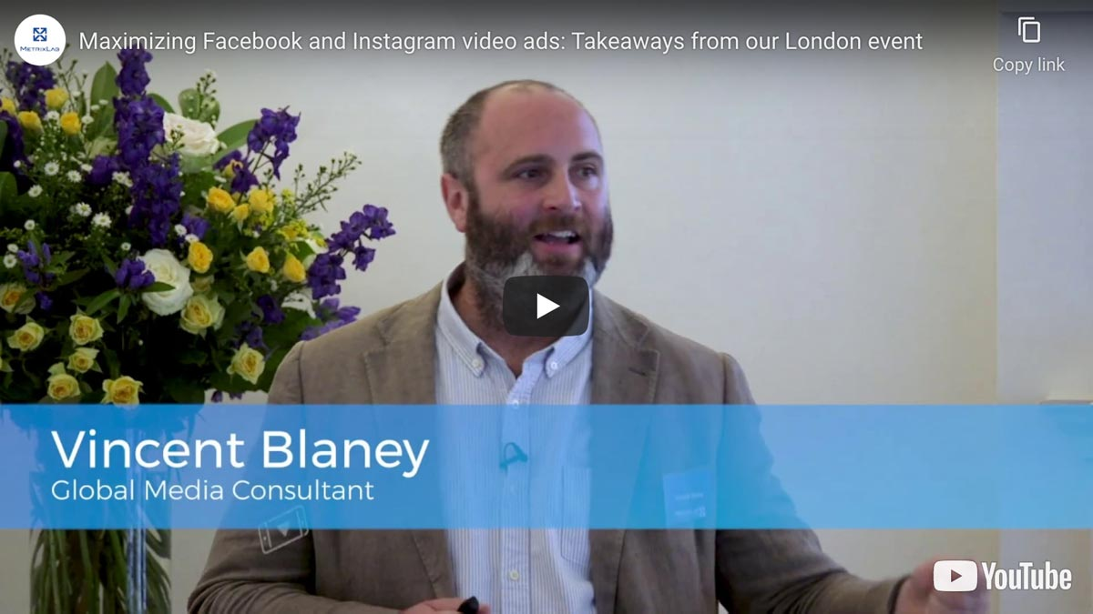 Maximizing Facebook and Instagram video ads: Takeaways from our London event
