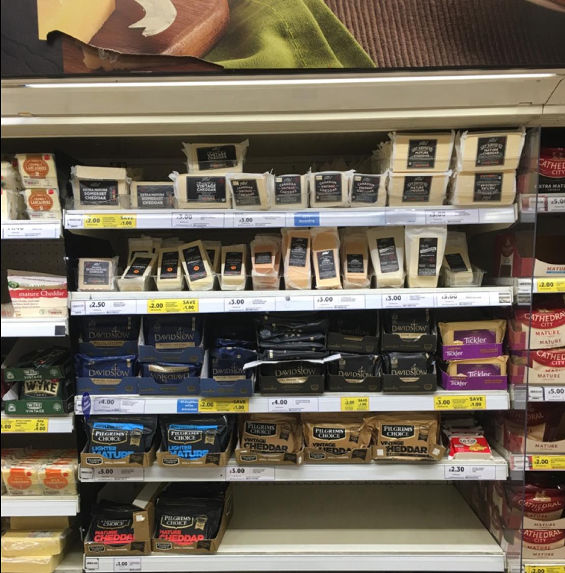Shopper Insights shelf