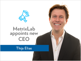 Press release: MetrixLab appoints Thijs Elias as new CEO