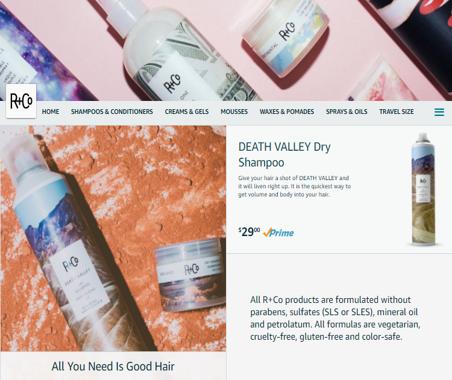 Image: e-storefront example