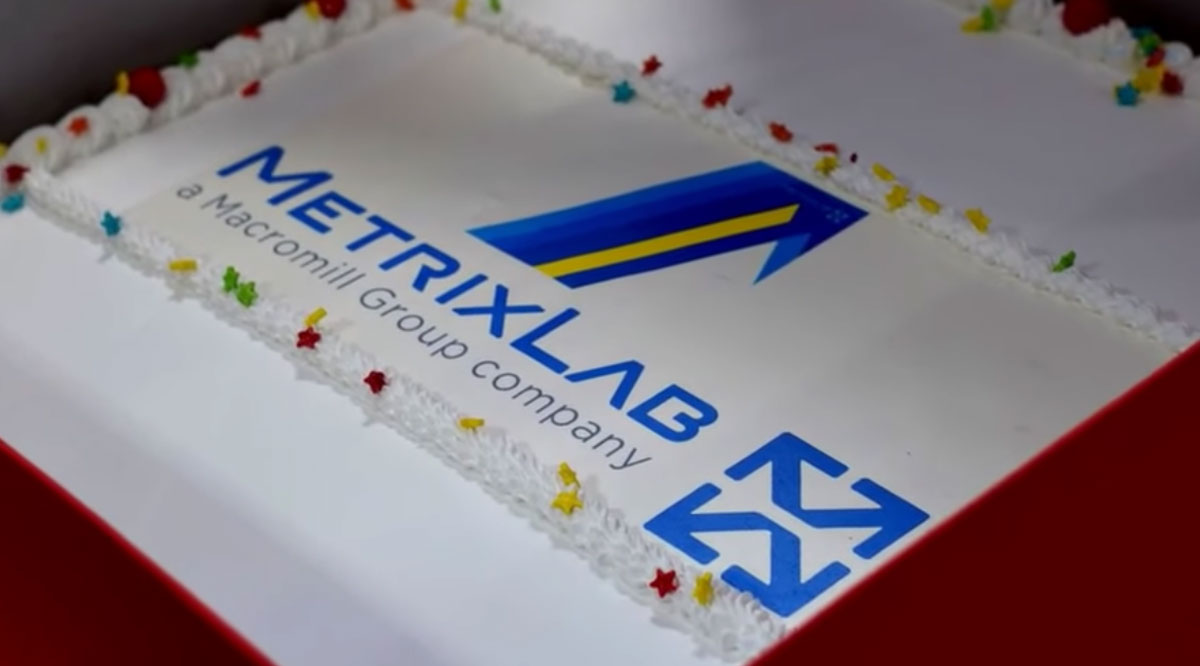 Metrixlab celebrates the launch of it's new brand