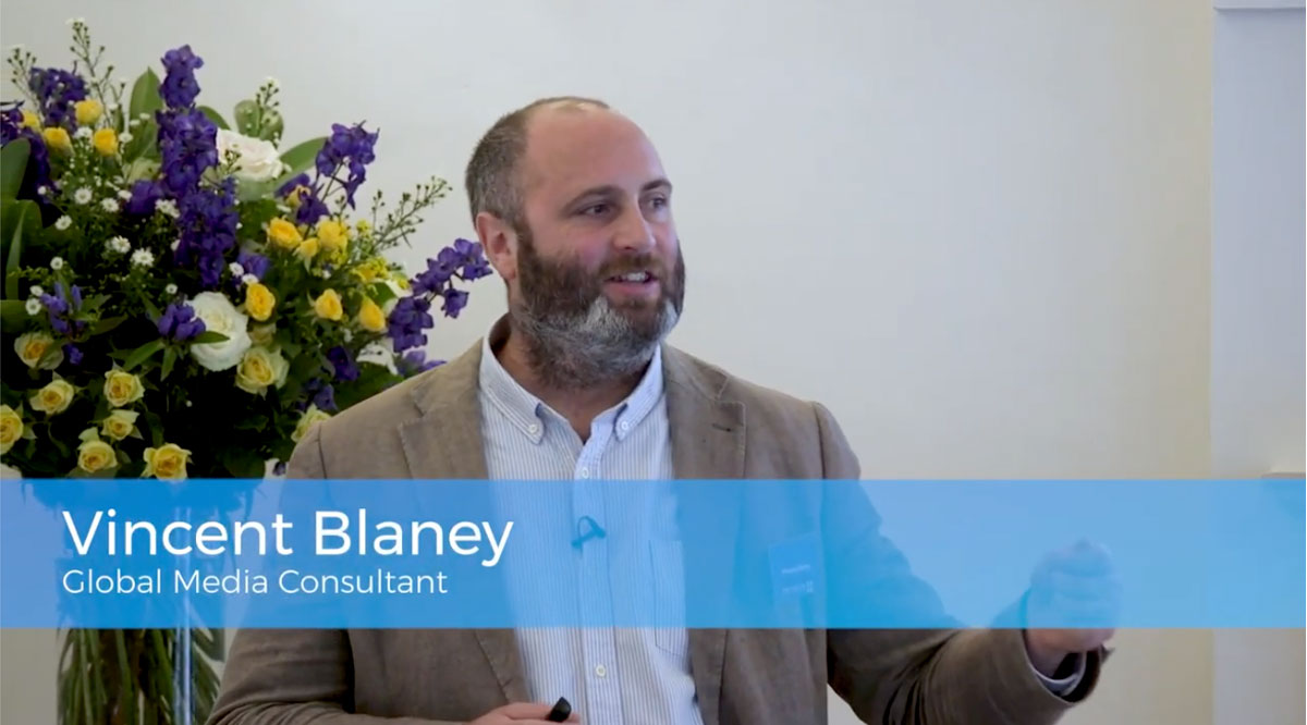Vincent Blaney Global Media Consultant