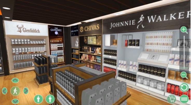 3D Virtual store