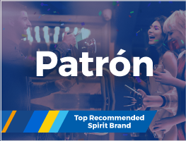 Press release: Patrón wins 'Top Recommended Spirit Brand' Award for third year