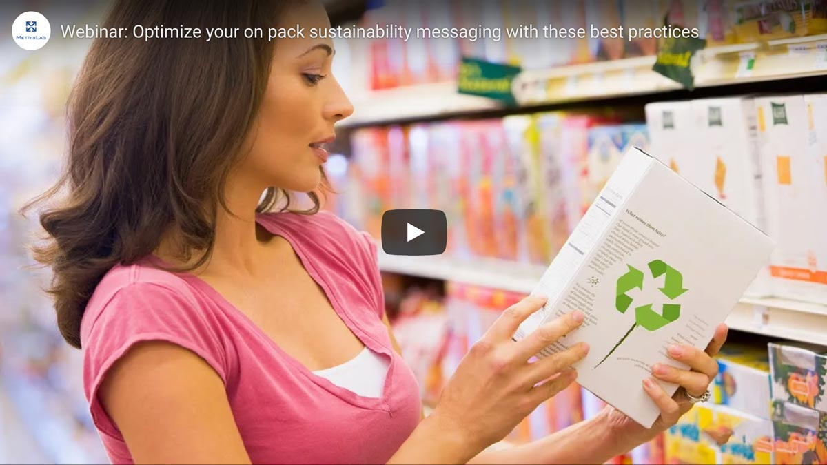 Webinar: Optimize your on pack sustainability messages with these best practices