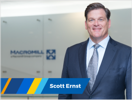 Press release: Scott Ernst to step down as Macromill Global CEO during 2020