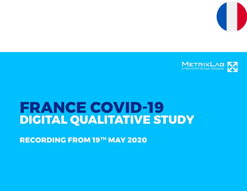 France Covid-19 Digital Qualitative Study