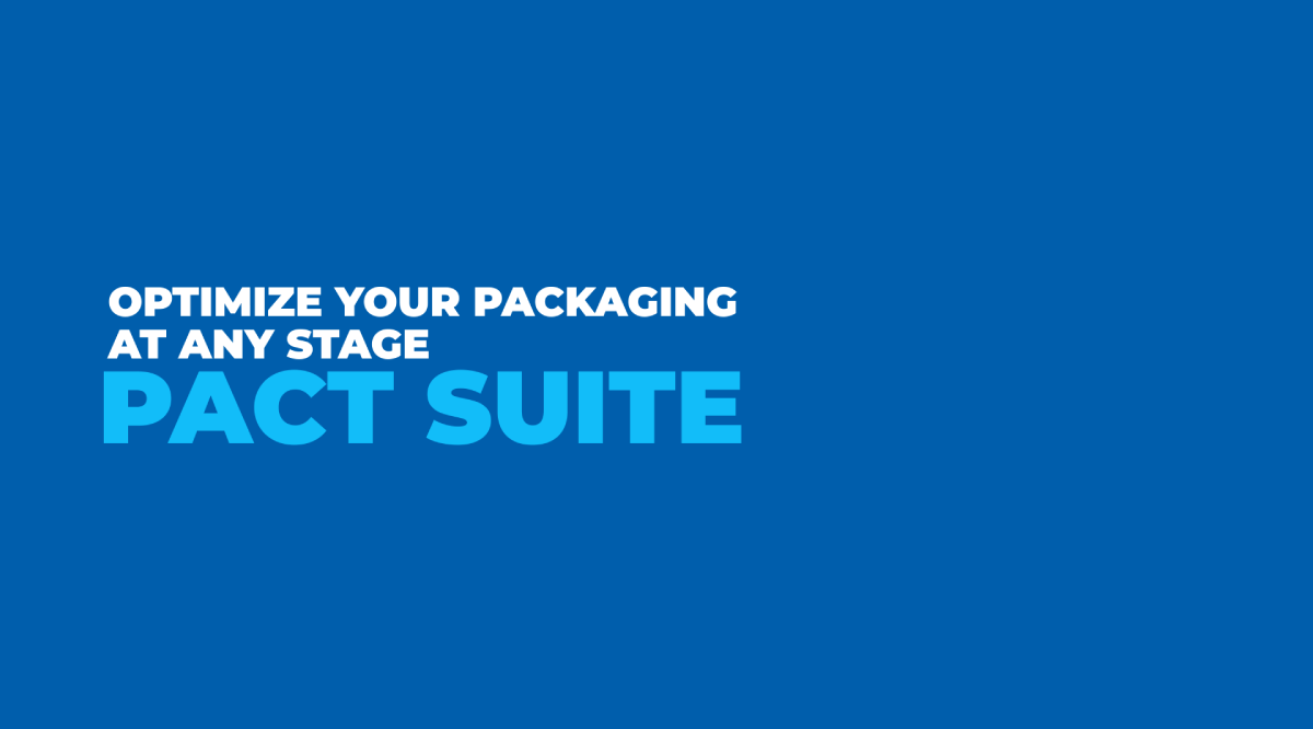 Optimize your packaging at any stage: PACT SUITE