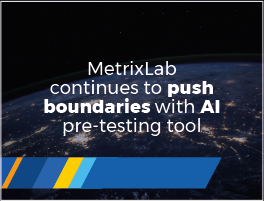 Press release: MetrixLab continues to push boundaries with AI pre-testing tool