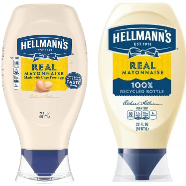Hellman's bottle