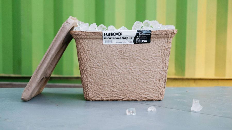 biodegradable igloo