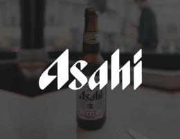 Asahi International supermarket shelves
