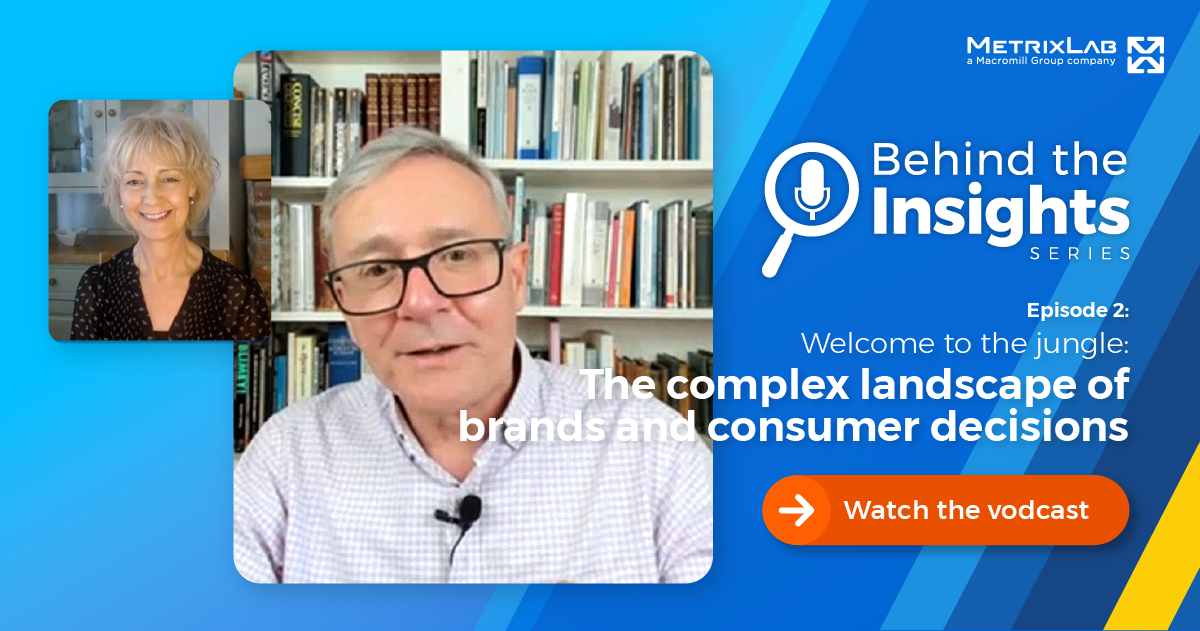 Behind the Insights episode 3 - Welcome to the Jungle: The complex landscape of brands and consumer decisions