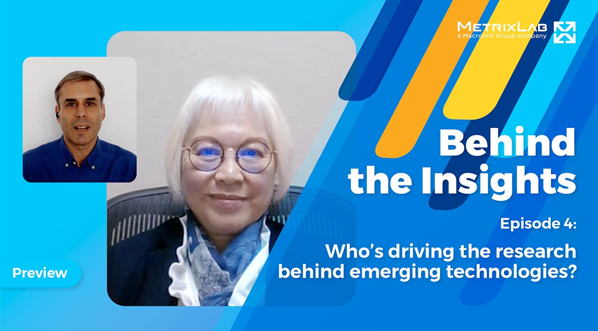 Behind the insights 4 - Who's driving the research behind emerging technologies?
