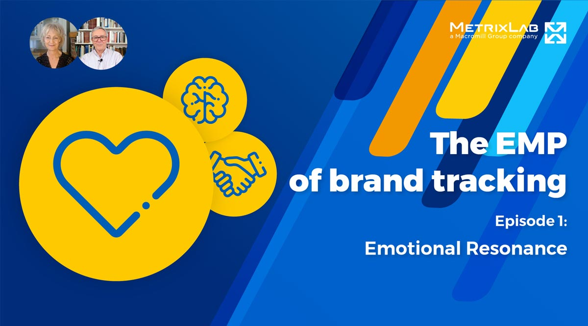 The EMP of brand tracking part 1: Emotional resonance