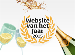 Award Night Website of the Year in the Netherlands